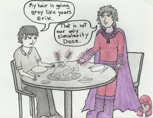 My Thanksgiving with Magneto