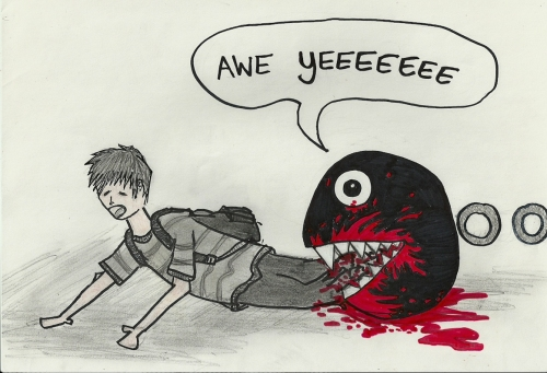 Chain Chomp speaks