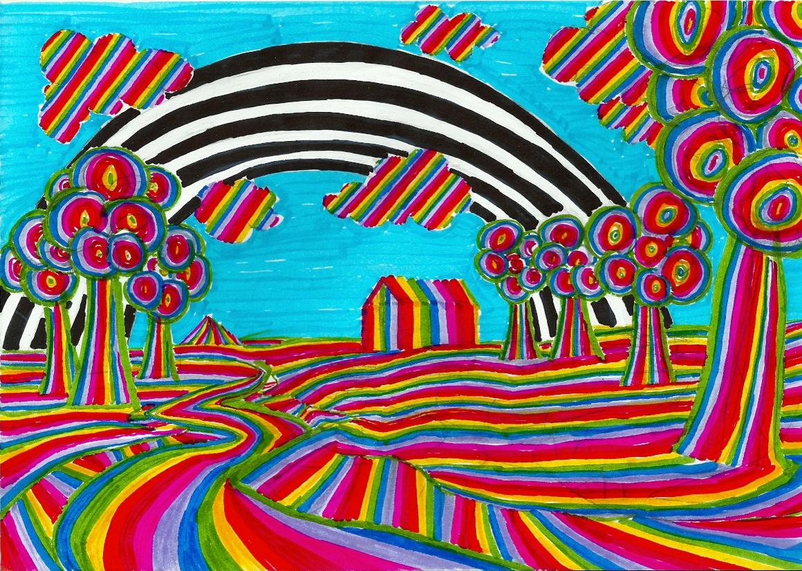 Rainbow in rainbowland