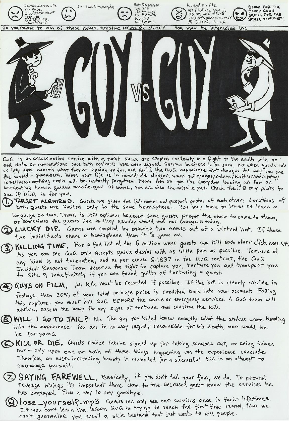 Guy vs Guy